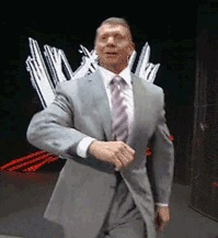 Vince McMahon power walk