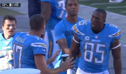 Antonio Gates Philip Rivers
