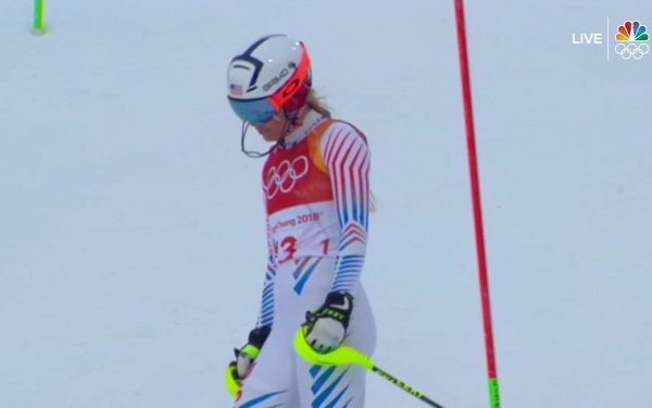 Lindsey Vonn disappointment